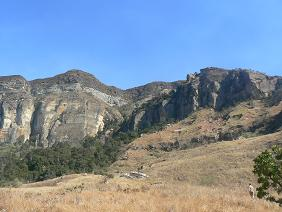 Natuur Zuid Afrika Drakensbergen