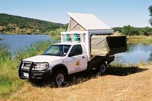 Camper in Zuid Afrika