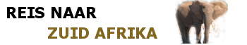 Reis naar Zuid Afrika