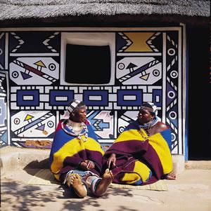 De kleurrijke architectuur Zuid Afrika