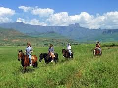 Rondreizen Zuid Afrika: 9 daagse Paardrijsafari Zuid Afrika
