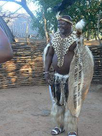 Zuid Afrika Zulu Chief