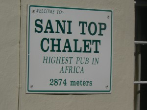 Sani Pass: Top chalet